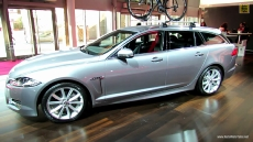 2013 Jaguar XF Wagon at 2012 Paris Auto Show