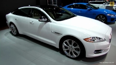 2013 Jaguar XJ-L at 2013 Detroit Auto Show