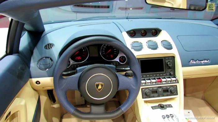 2013 lamborghini gallardo lp 550 2 spyder at 2012 paris auto show