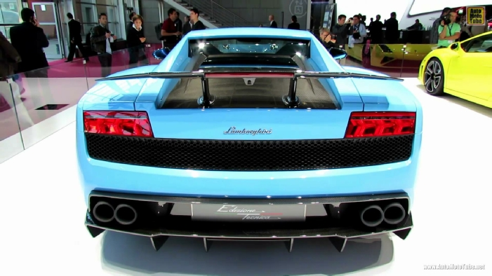 2013 Lamborghini Gallardo Lp 570 4 Superleggera Edizione Technica At