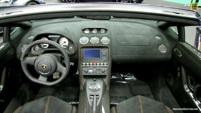 lamborghini gallardo interior 2013. 2013 lamborghini gallardo lp5704 spyder performante edizione tecnica at 2014 montreal auto show interior