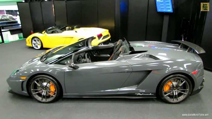 2013 Lamborghini Gallardo Lp570 4 Spyder Performante