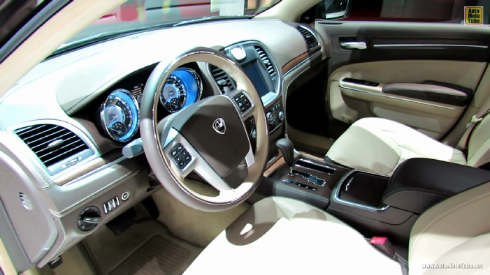 2013 Lancia Thema Executive at 2012 Paris Auto Show