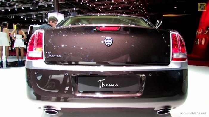 2013 Lancia Thema Executive At 2012 Paris Auto Show