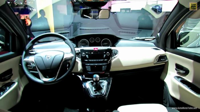 2013 lancia ypsilon platinum at 2012 paris auto show. Black Bedroom Furniture Sets. Home Design Ideas