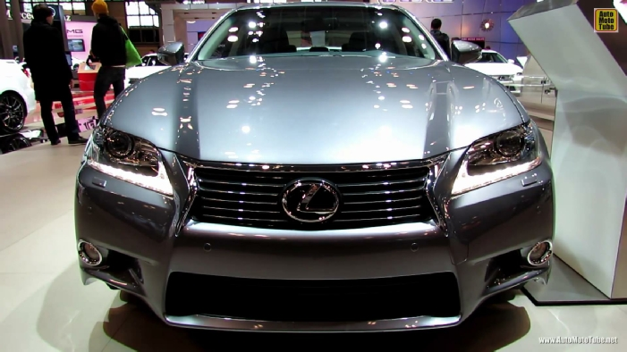 2013 lexus gs350 awd at 2013 ny auto show. Black Bedroom Furniture Sets. Home Design Ideas