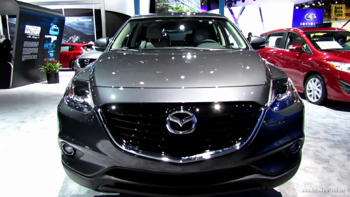 2013 mazda cx 9 grand touring awd at 2013 detroit auto show. Black Bedroom Furniture Sets. Home Design Ideas