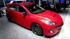 2013 Mazda Speed 3 Touring AWD at 2013 Detroit Auto Show