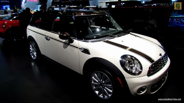 2013 mini cooper clubman hyde park edition at 2013 montreal auto show. Black Bedroom Furniture Sets. Home Design Ideas
