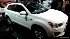 2013 Mitsubishi ASX Diesel at 2012 Paris Auto Show