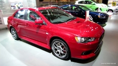 2013 Mitsubishi Lancer Evolution at 2013 Toronto Auto Show