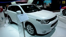 2013 Mitsubishi Outlander PHEV Hybrid at 2012 Paris Auto Show