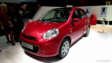 2013 Nissan Micra at 2012 Paris Auto Show