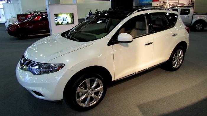 2013 Nissan Murano Platinum at 2013 NY Auto Show