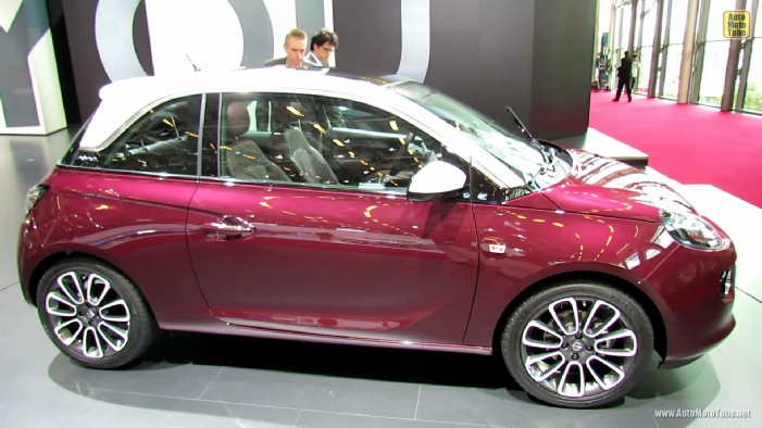 2013 opel adam glam at 2012 paris auto show. Black Bedroom Furniture Sets. Home Design Ideas