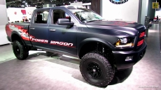 2013 Ram 1500 Power Wagon at 2013 Detroit Auto Show