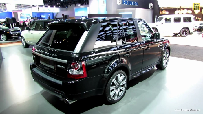 2013 range rover sport supercharged at 2013 detroit auto show. Black Bedroom Furniture Sets. Home Design Ideas