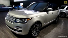 2013 Range Rover Supercharged at 2013 Toronto Auto Show