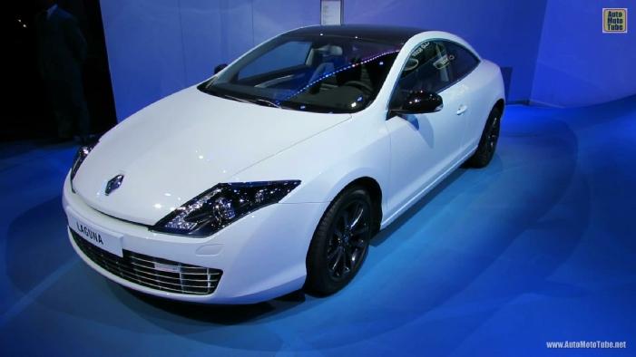 2013 renault laguna coupe monaco gt diesel at 2012 paris auto show. Black Bedroom Furniture Sets. Home Design Ideas