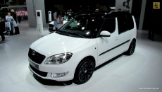 2013 Skoda Roomster TDI at 2012 Paris Auto Show