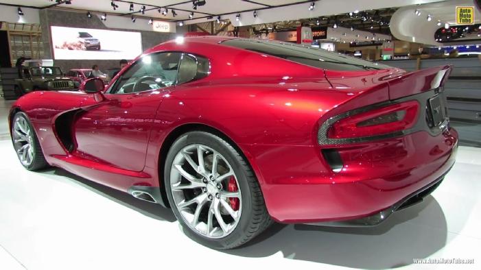 2013 Srt Viper Gts At 2013 Toronto Auto Show