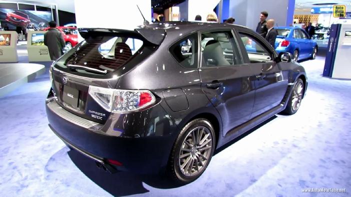 2014 Subaru Wrx Hatchback >> 2013 Subaru Impreza WRX Hatchback at 2013 Detroit Auto Show