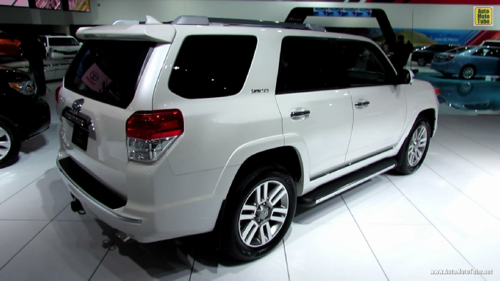 2013 toyota 4runner limited at 2013 detroit auto show. Black Bedroom Furniture Sets. Home Design Ideas