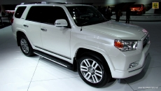 2013 Toyota 4Runner Limited at 2013 Detroit Auto Show