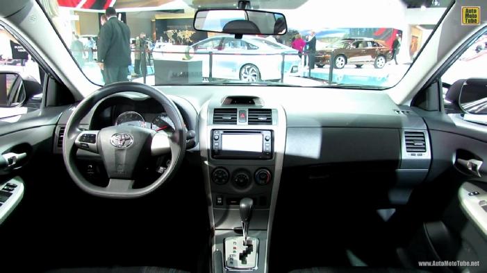 2014 Toyota Corolla Interior Autos Post