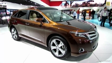 2013 Toyota Venza Limited AWD at 2013 Detroit Auto Show