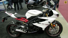 2013 Triumph Daytona 675 at 2013 Montreal Motorcycle Show
