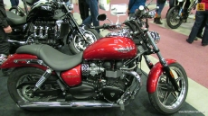 2013 Triumph Speedmaster at 2013 Montreal Motorcycle Show