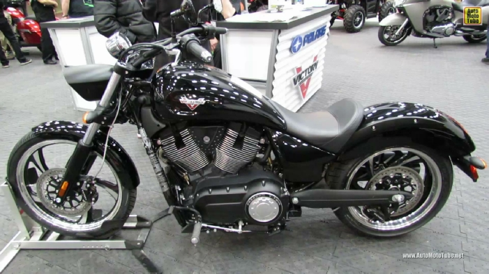 2013 Victory Vegas 8-Ball at 2013 Quebec Motorcycle Show