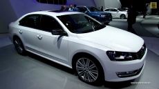 2014 Volkswagen Passat Performance Concept at 2013 Detroit Auto Show