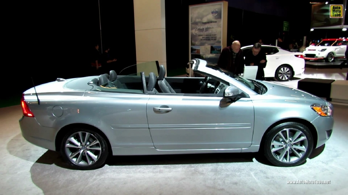2013 volvo c70 t5 convertible at 2013 montreal auto show. Black Bedroom Furniture Sets. Home Design Ideas
