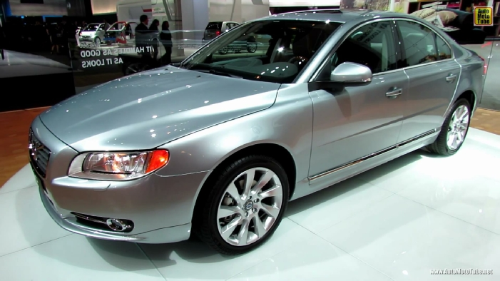 2013 volvo s80 t6 awd at 2013 detroit auto show. Black Bedroom Furniture Sets. Home Design Ideas