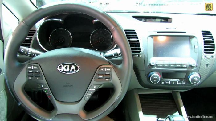2014 KIA Forte EX-GDi at 2012 Los Angeles Auto Show