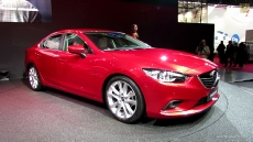 2014 Mazda 6 SkyActiv at 2012 Paris Auto Show