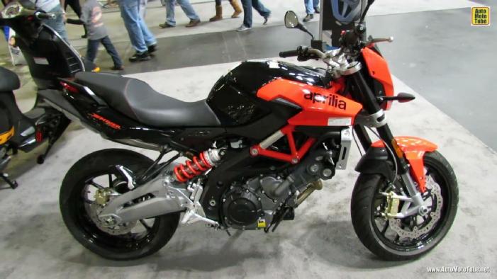 2014 Aprilia Shiver 750 at 2013 New York Motorcycle Show