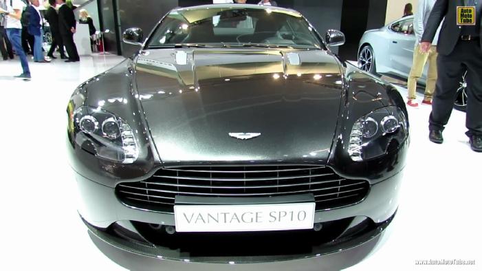 2014 Aston Martin Vantage V8 Sp10 At 2013 Frankfurt Motor Show