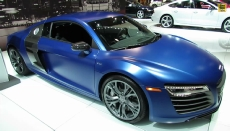 2014 Audi R8 V10 Plus at 2013 NY Auto Show