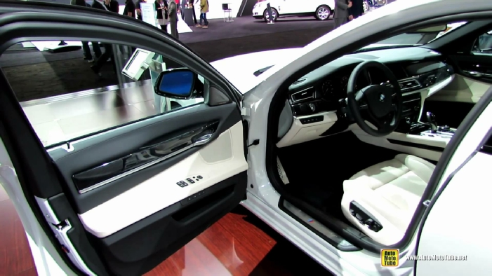 2014 BMW 750Li XDrive M Sport Edition At New York Auto Show