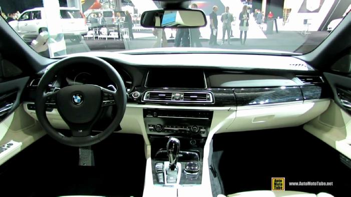 2014 BMW 750Li XDrive M Sport Edition At New York Auto Show