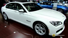 2014 BMW 750Li xDrive M Sport Edition at 2014 New York Auto Show