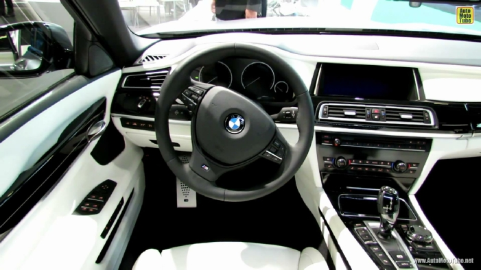 2014 BMW 750Li XDrive At Montreal Auto Show WALLPAPERS