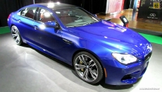 2014 BMW M6 Gran Coupe at 2014 Montreal Auto Show