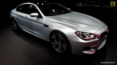 2014 BMW M6 Gran Coupe at 2013 Detroit Auto Show