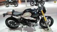 2014 BMW NineT at 2013 EICMA Milan Motorcycle Exhibition