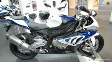2014 BMW S1000RR HP4 at 2013 EICMA Milan Motorcycle Exhibition
