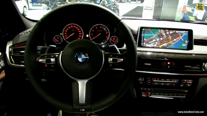 2014 BMW X5 35i XDrive M Sport Line At Montreal Auto Show